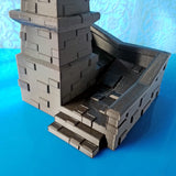 3D Castle Dice Tower - Tower Defense - (.stl file)