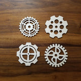 Steampunk Gear Coasters - 12 Designs (digital download)