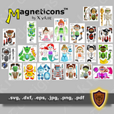 The Whole Pack - Magneticon Character Pack - Digital Download