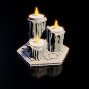 Tea Light Candle Stand - Pillars of Stone