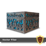 Cave Troll Fantasy Box -Vector Files (Digital Download)