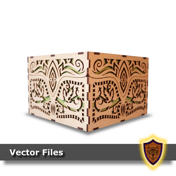 Elvish Fantasy Box -Vector Files (Digital Download)