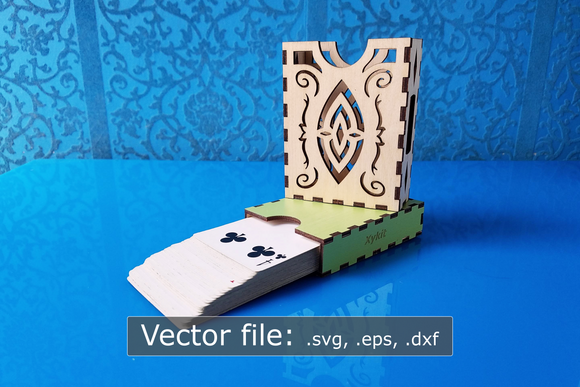 Laser Cut - Elf Deck Box - Sleeved and Un-sleeved - Vector Files (Digital Download)