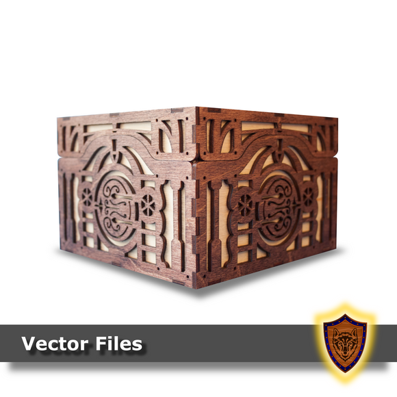 Halfling Fantasy Box -Vector Files (Digital Download)