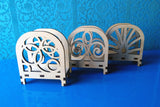 Laser Cut - Napkin Holders - 3 Designs Included (Digital Download)