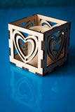 Laser Cut - 3 Valentines Luminary Designs - (Digital Download)