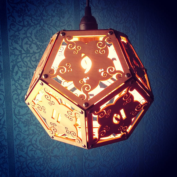 DnD D12 Dice Lamp- Giant 10