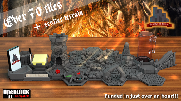 Pillars of Stone Kickstarter Pledges