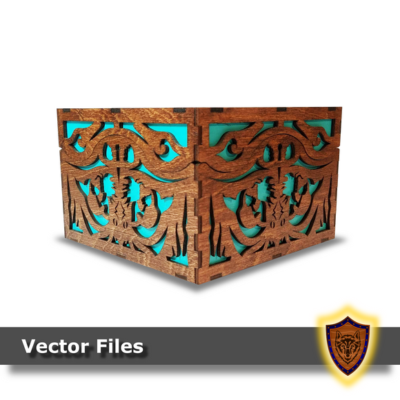Nautical Fantasy Box -Vector Files (Digital Download)