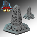 Obelisk Tile - Pillars of Stone