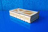 Laser Cut - Pencil Box Crate with or without lid - (Digital Download)