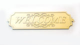 Welcome Sign - Laser Cut - (Digital Download)