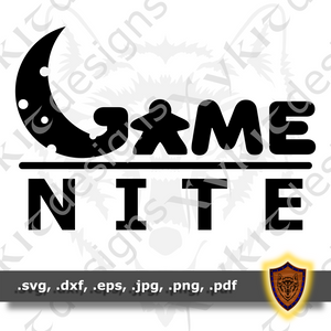 Game Nite - Board Game - T-shirt SVG design (Digital Download)