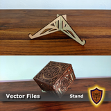 FREE Laser Cut Display Stand for Fantasy Boxes - (Digital Download)