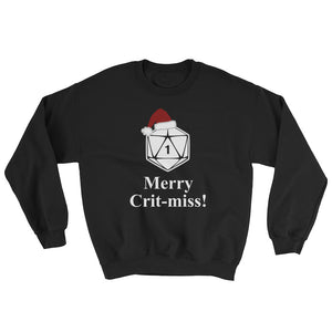 Merry Crit-miss Sweatshirt