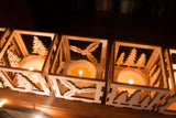 Laser cut Christmas Luminaries - 7 designs - (Digital Download)