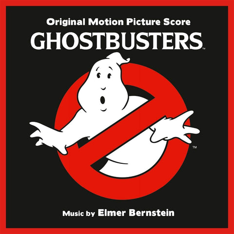 Elmer Bernstein - Ghostbusters (Original Motion Picture Score) [2LP] (Clear With Slime Green Colored)