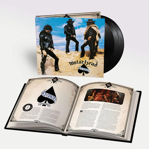 Motorhead - Ace Of Spades [3LP] (180 Gram, 20 page bookpack, 17 previously unreleased tracks)(Pre-Order)