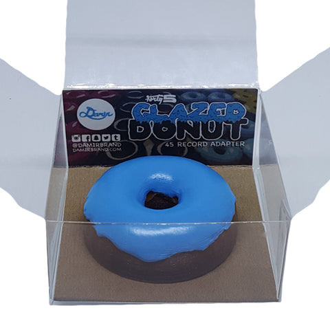 Damir Forty5 45 rpm Adapter - Blue Glazed Donut