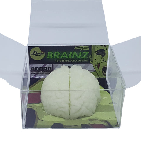 Damir Forty5 45 rpm Adapter - Brainz (Glow in the Dark)