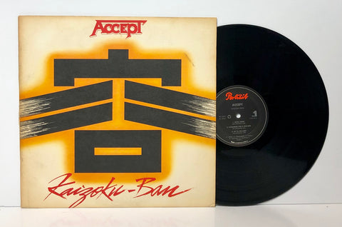 Accept- Kaizoku Ban LP 1985 USA Press