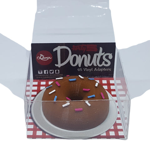 Damir Forty5 45 rpm Adapter - Donut with Sprinkles