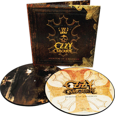 Ozzy Osbourne - Memoirs Of A Madman [2LP] (Picture Disc, gatefold)