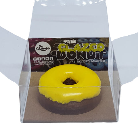 Damir Forty5 45 rpm Adapter - Yellow Glazed Donut