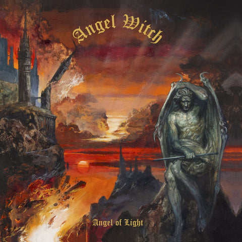 Angel Witch - Angel Of Light [LP] (Transparent Red Colored Vinyl)