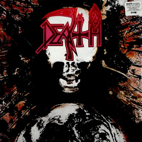 Death - Individual Thought Patterns [LP] (Clear Vinyl with White Pinwheels with Heavy Baby Pink, Blood Red & Swamp Green Splatter Vinyl, reissue)