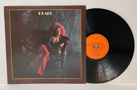 Janis Joplin- Pearl LP UK PRESS