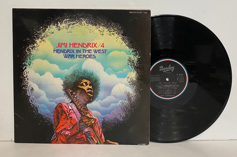 Jimi Hendrix- Hendrix in the west/ War heroes 2LP