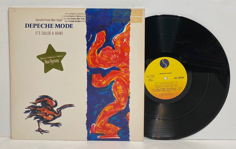 Depeche Mode - It's Called a Heart LP Promo Single