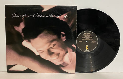 Steve Winwood- Back in the high life LP
