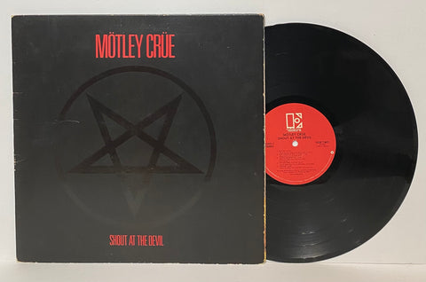 Motley Crue- Shout at the devil LP