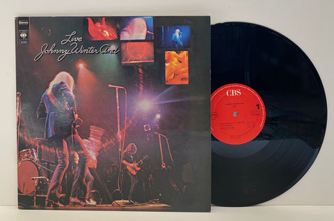 Johnny Winter And ‎– Live Johnny Winter And [LP]