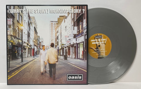 Oasis- (What's the story) Morning Glory? 2LP Limited Edition Silver