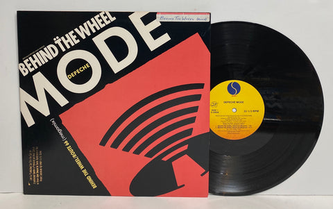 Depeche Mode - Behind The Wheel LP Single Promo