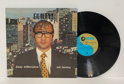 Eric Burdon/ Jimmy Witherspoon- Guilty LP