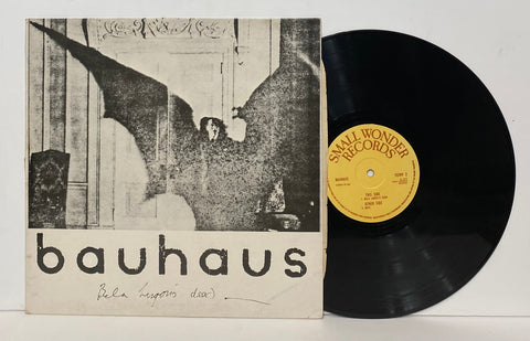 Bauhaus- Bela Lugosi's dead LP UK Press