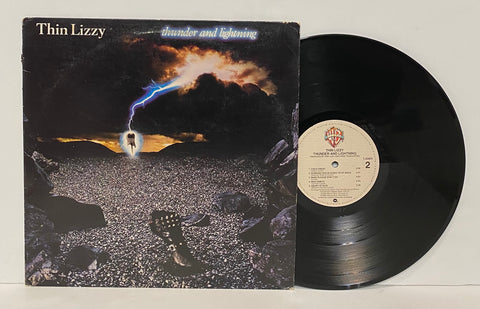 Thin Lizzy- Thunder and lightning LP