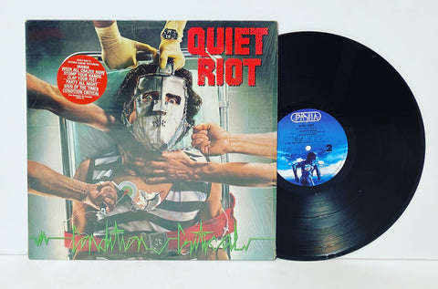 Quiet Riot- Condition Critical LP