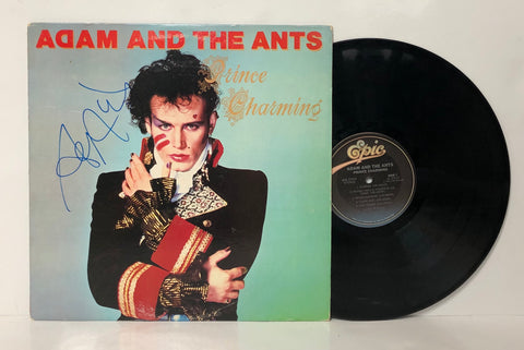 Adam and The Ants- Prince Charming LP Signed by Adam Ant