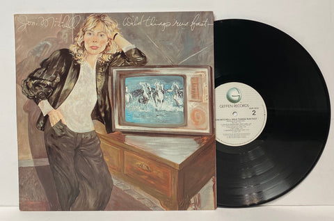 Joni Mitchell- Wild things run fast LP