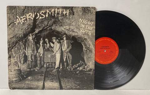 Aerosmith- Night in the ruts LP