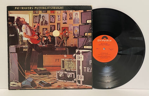 Pat Travers- Putting it straight LP