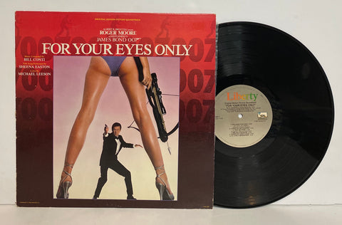 James Bond- For your eyes only LP