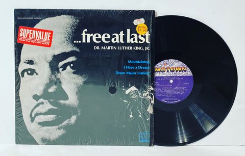 Martin Luther King Jr.- Free at last LP