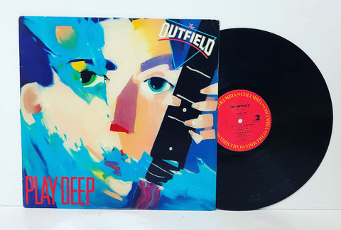 The Outfield- Play deep LP