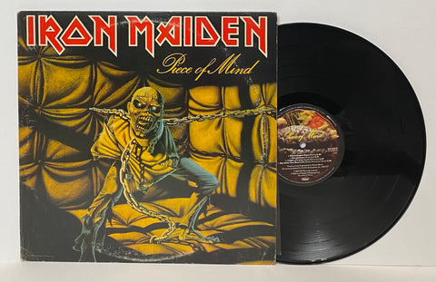Iron Maiden- Piece of mind LP